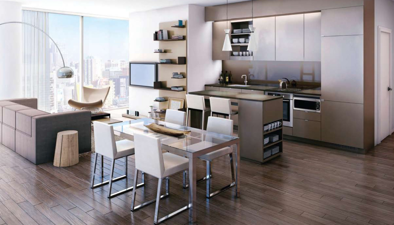 Peter street condominiums talkcondo for Condo kitchen images