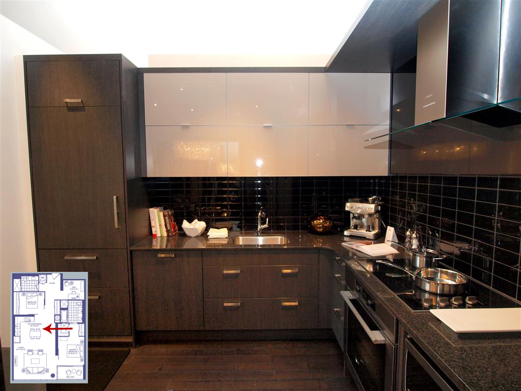 Yonge Model Suite Kitchen A Closer Look At The 3018 Yonge Model Suite    TalkCondo