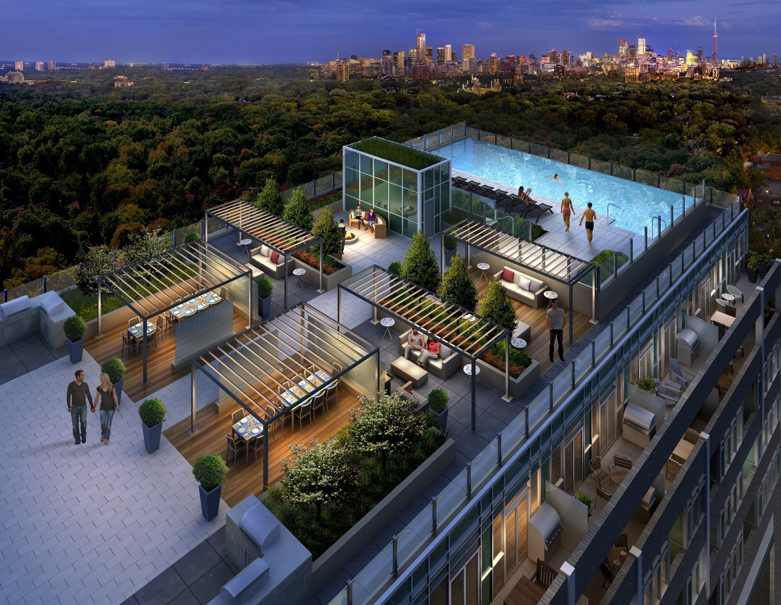 Terrace Pools infinity pool at rise condos - so awesome | favorite condo