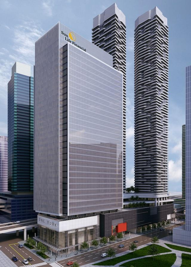 Menkes Announce Sun Life To Occupy One York Talkcondo