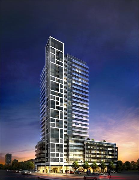 talkcondo-new-condos-in-toronto-rise-condos-exterior-dusk