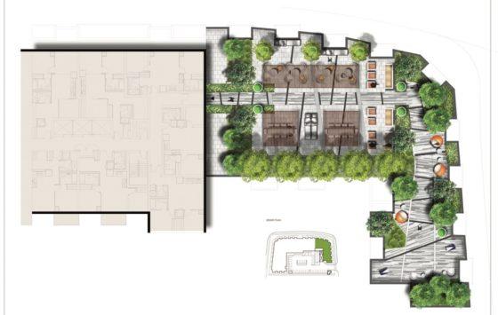 Mississauga Square Condos Third Floor Amenity Map