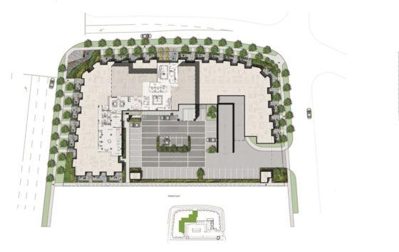 Mississauga Square Condos Ground Floor Amenity Map